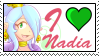 I love Nadia by GigiCatGirl