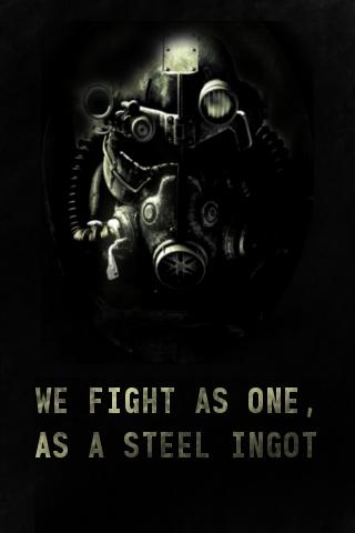 Brotherhood Of Steel By PyroCookie