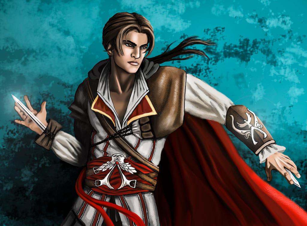 Ezio Auditore by storykween