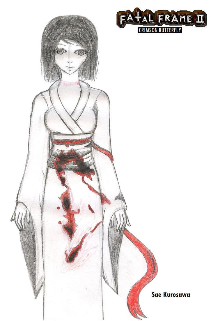 Fatal Frame 2 : Sae Kurosawa by Pink-chi on DeviantArt