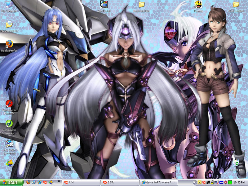 Xenosaga Desktop by 0-MaR-MaR-0