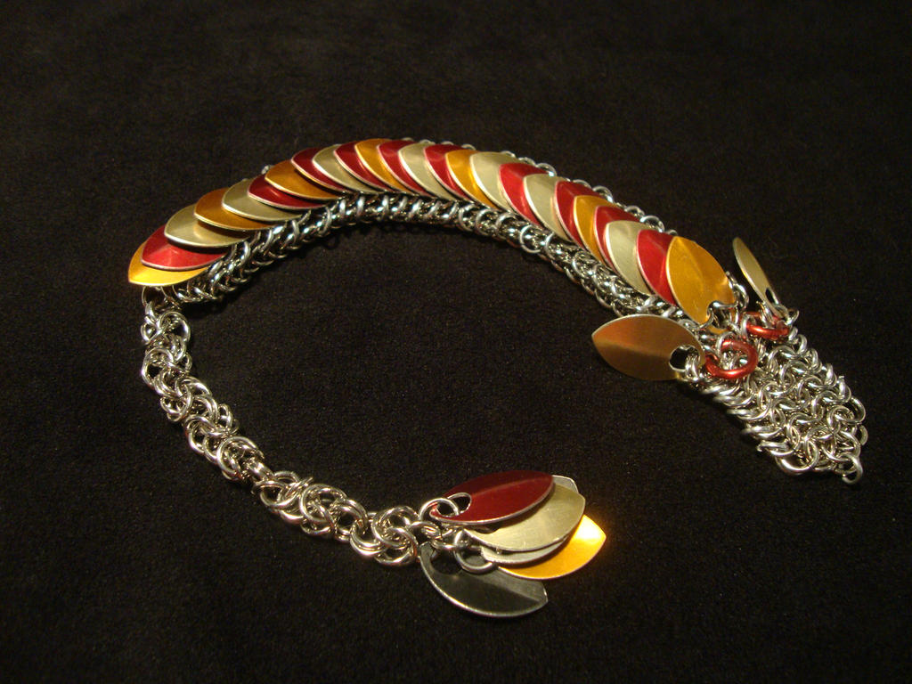 Fire Chainmail Dragon By Xthe Royal Dragonx On Deviantart