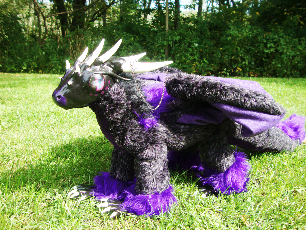 OOAK Dragon Art Doll by xThe-Royal-Dragonx