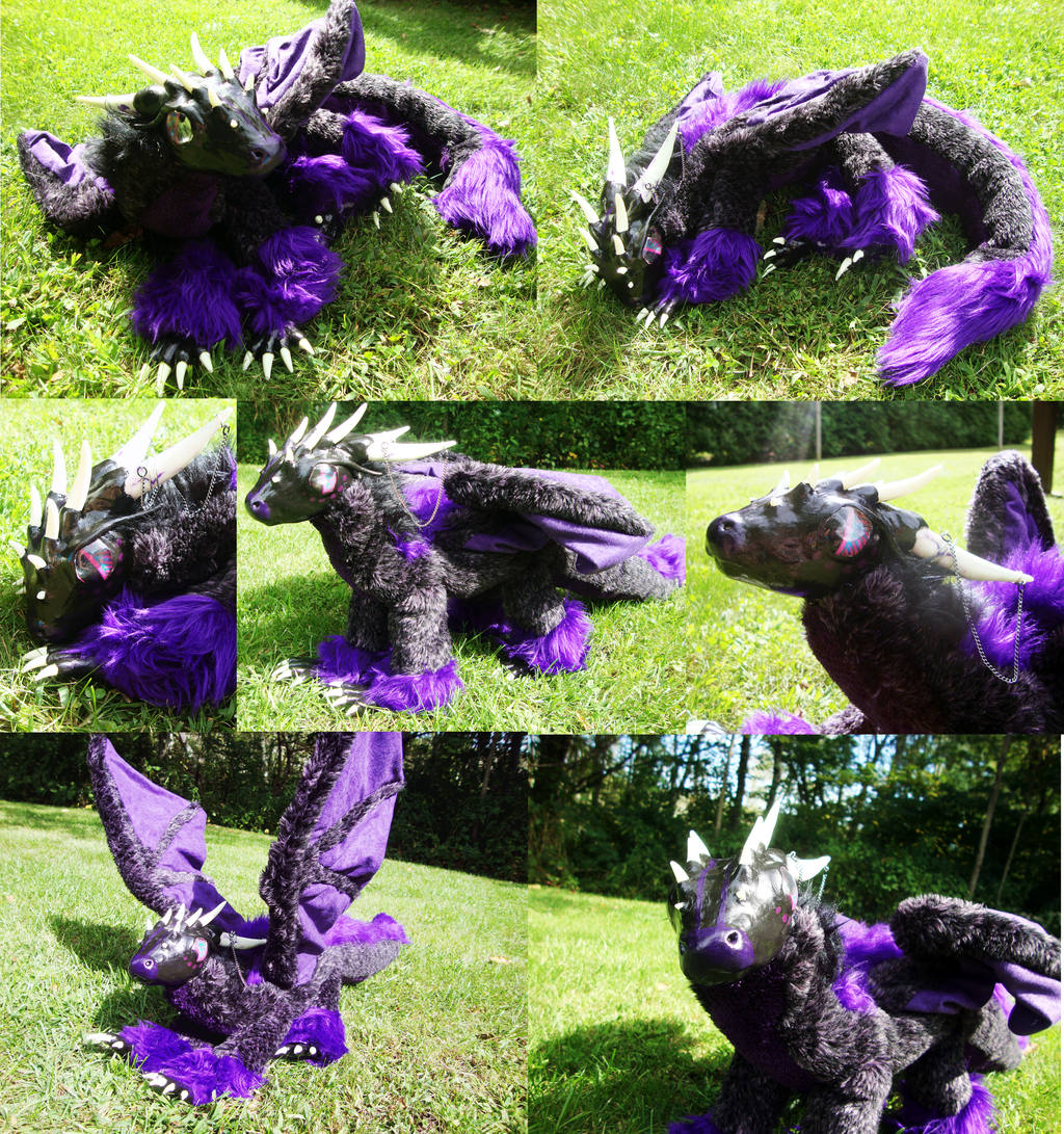 OOAK Dragon Art Doll- Multiple Shots by xThe-Royal-Dragonx