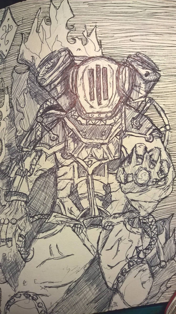 Bioshock Fireman by Scumandvillainy