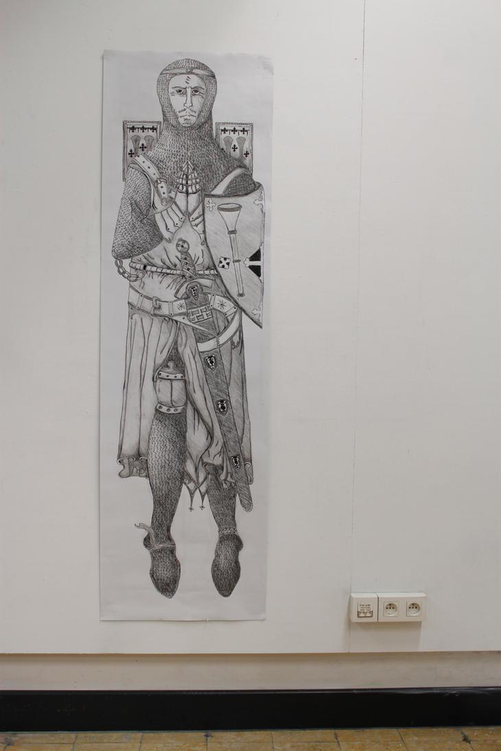 The Knight by Scumandvillainy