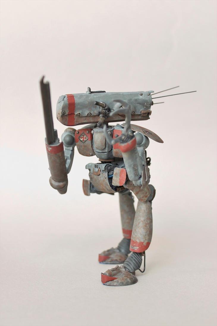 Maschinen Krieger Ma.K Lancelot by Scumandvillainy