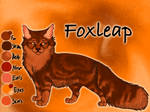 Foxleap of ThunderClan - Faded Boundaries