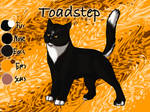 Toadstep of ThunderClan - Faded Boundaries