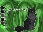 Willowshine of RiverClan - Waning Moon