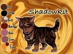 Shadowkit of ThunderClan - Waning Moon