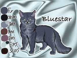 Bluestar of ThunderClan - A Dangerous Path by Jayie-The-Hufflepuff