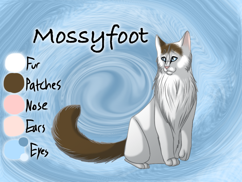 Mossyfoot of RiverClan - Trail of Ashes by Jayie-The-Hufflepuff