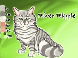 River Ripple of RiverClan - Moth Flight's Vision by Jayie-The-Hufflepuff