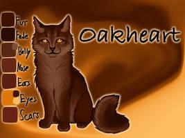 Oakheart of RiverClan - Into the Wild by Jayie-The-Hufflepuff