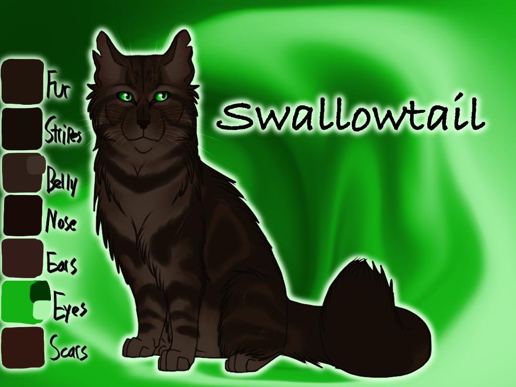 Swallowtail of RiverClan - Sunrise by Jayie-The-Hufflepuff