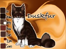 Duskfur of RiverClan - Silent Sacrifice by Jayie-The-Hufflepuff