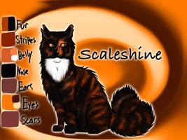 Scaleshine of RiverClan - Silent Sacrifice by Jayie-The-Hufflepuff