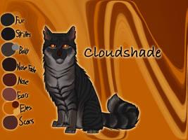 Cloudshade of RiverClan - Silent Sacrifice by Jayie-The-Hufflepuff