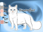 Snowfur of ThunderClan - Bluestar's Prophecy