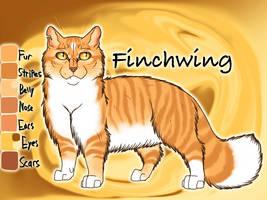 Finchwing of ThunderClan - Silent Sacrifice by Jayie-The-Hufflepuff