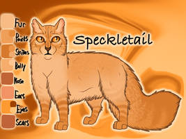 Speckletail of ThunderClan - Dawn by Jayie-The-Hufflepuff