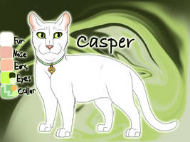 Casper the Kittypet - No Appearances by Jayie-The-Hufflepuff