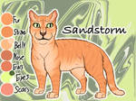 Sandstorm of ThunderClan - The Last Hope