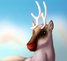 Rudolph without the snow 2017 by Jayie-The-Hufflepuff