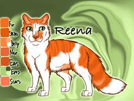 Reena the Rogue - Tallstar's Revenge by Jayie-The-Hufflepuff