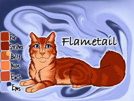 Flametail of ShadowClan - Night Whispers by Jayie-The-Hufflepuff