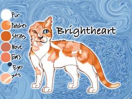 Brightheart of ThunderClan - Silent Sacrifice by Jayie-The-Hufflepuff