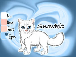 Snowkit of ThunderClan - A Dangerous Path by Jayie-The-Hufflepuff