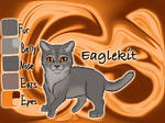 Eaglekit of WindClan - Fire and Ice