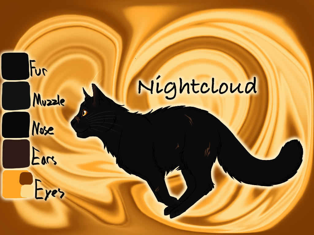 Nightcloud of WindClan - Silent Sacrifice by Jayie-The-Hufflepuff