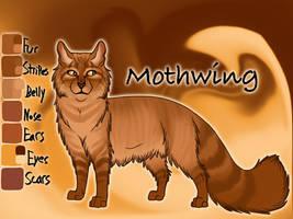 Mothwing of RiverClan - Shrewfoot's Spite by Jayie-The-Hufflepuff