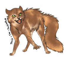 Tawnypelt for Collab by Jayie-The-Hufflepuff