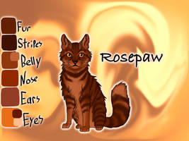 Rosepaw of RiverClan - Silent Sacrifice by Jayie-The-Hufflepuff