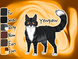 Yewpaw of ThunderClan - Silent Sacrifice by Jayie-The-Hufflepuff