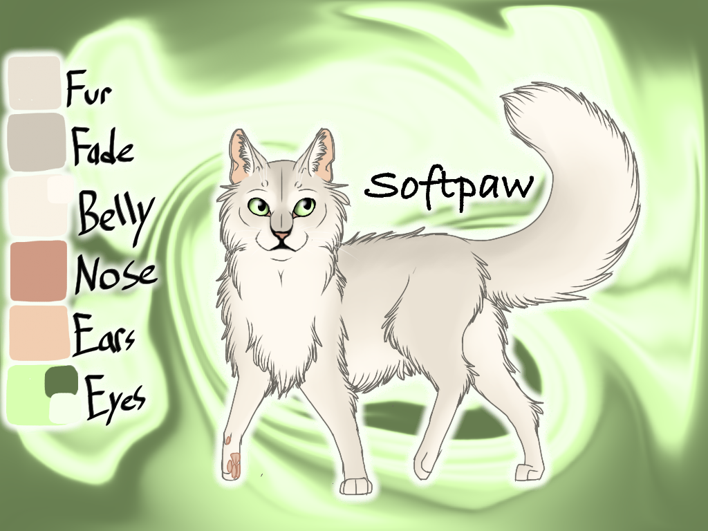 Softpaw of SkyClan - Sasha's Calling by Jayie-The-Hufflepuff