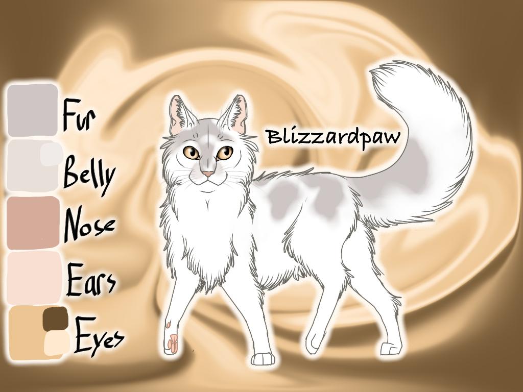 Blizzardpaw of SkyClan - Sasha's Calling by Jayie-The-Hufflepuff