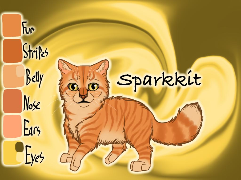 Sparkkit of SkyClan - Sasha's Calling by Jayie-The-Hufflepuff