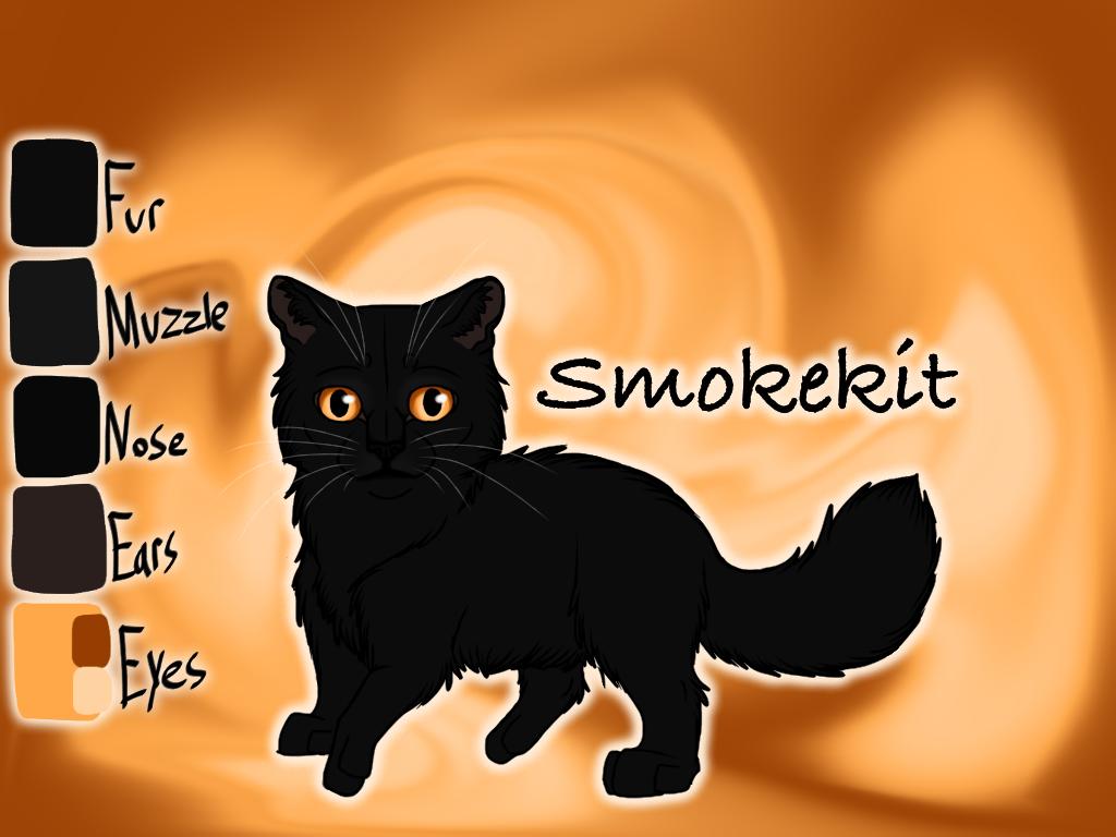 Smokekit of SkyClan - Sasha's Calling by Jayie-The-Hufflepuff