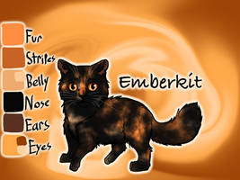 Emberkit of SkyClan - Sasha's Calling by Jayie-The-Hufflepuff