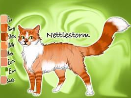 Nettlestorm of RiverClan - Warriors Website by Jayie-The-Hufflepuff