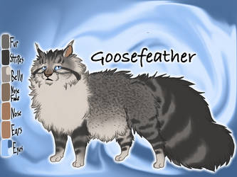 Goosefeather of ThunderClan - Bluestar's Prophecy by Jayie-The-Hufflepuff