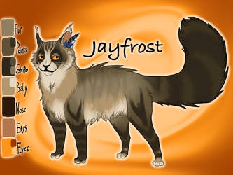 Jayfrost of BlogClan - Reference Sheet 2019 by Jayie-The-Hufflepuff