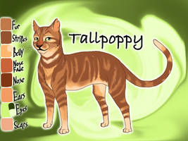 Tallpoppy of ShadowClan - Molefoot's Loss by Jayie-The-Hufflepuff
