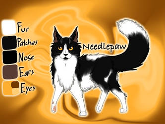 Needlepaw of SkyClan - Lost Stars by Jayie-The-Hufflepuff