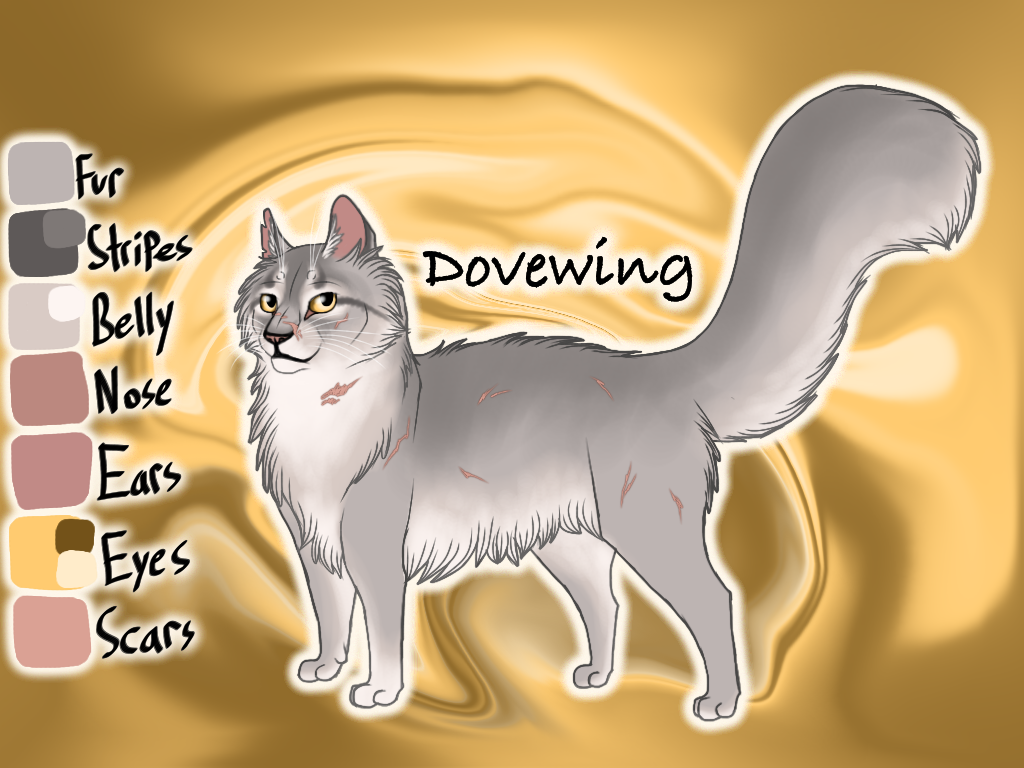 Dovewing of ThunderClan - Silent Sacrifice by Jayie-The-Hufflepuff